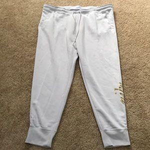 NWT! NIKE Size 3X fleece lined grey sweatpants